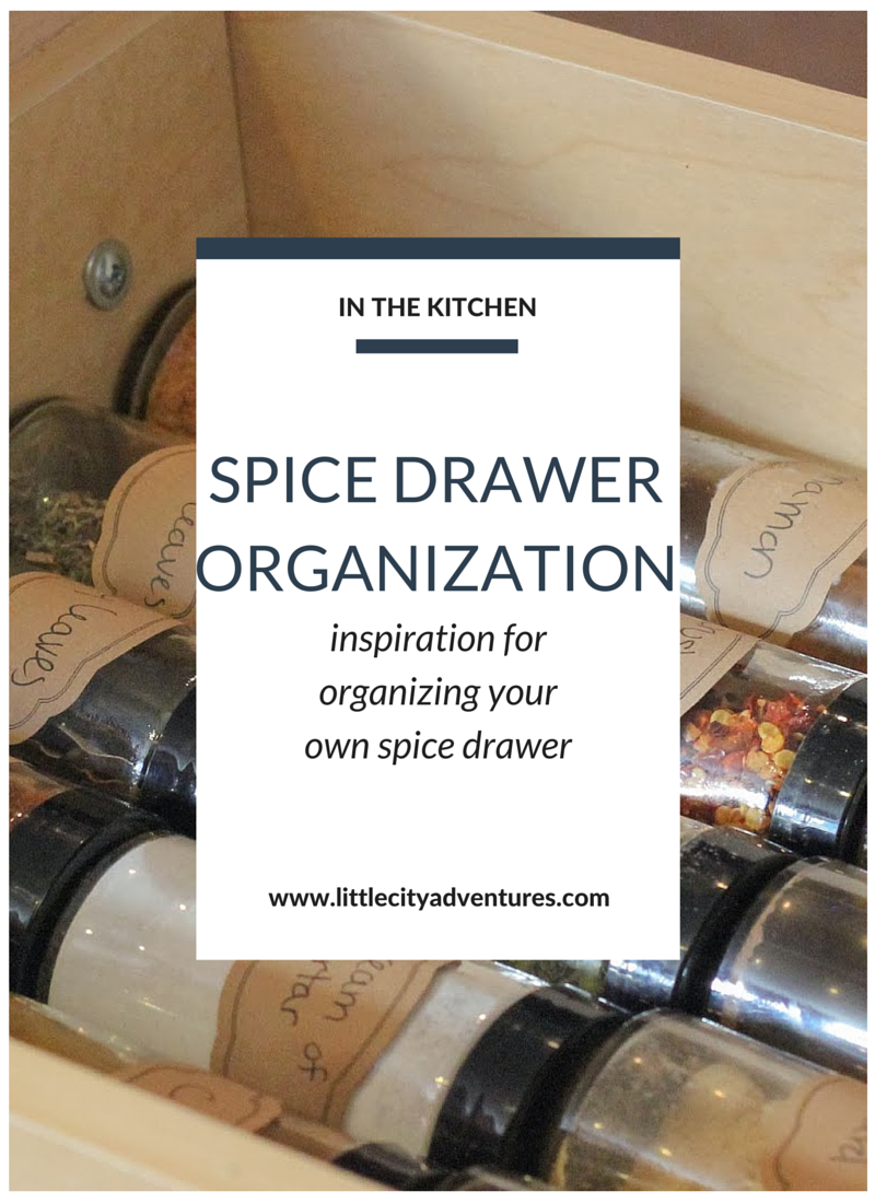 Organizing your spices can get tedious and frustrating. Here's one idea for keeping things organized and easy to access when cooking >>>>