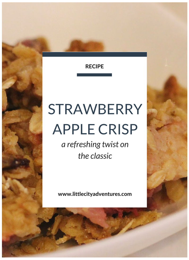 If you love apple crisp, you'll love this refreshing twist on the classic dish.