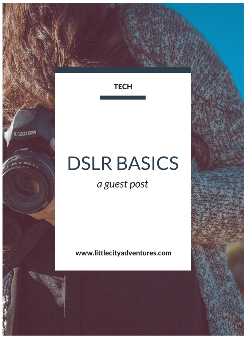 A FANTASTIC post with all the basics on using a DSLR! A great post to pin now and read leader and to save for reference.