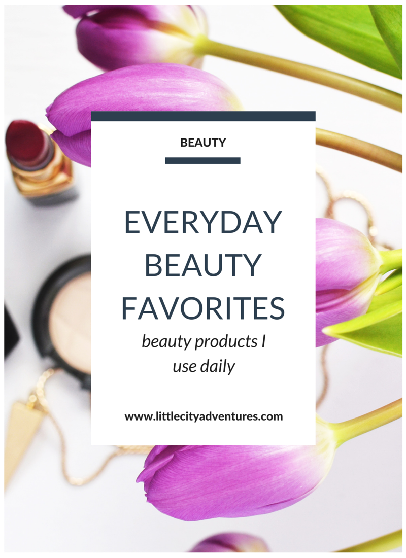 Love all of these beauty products!