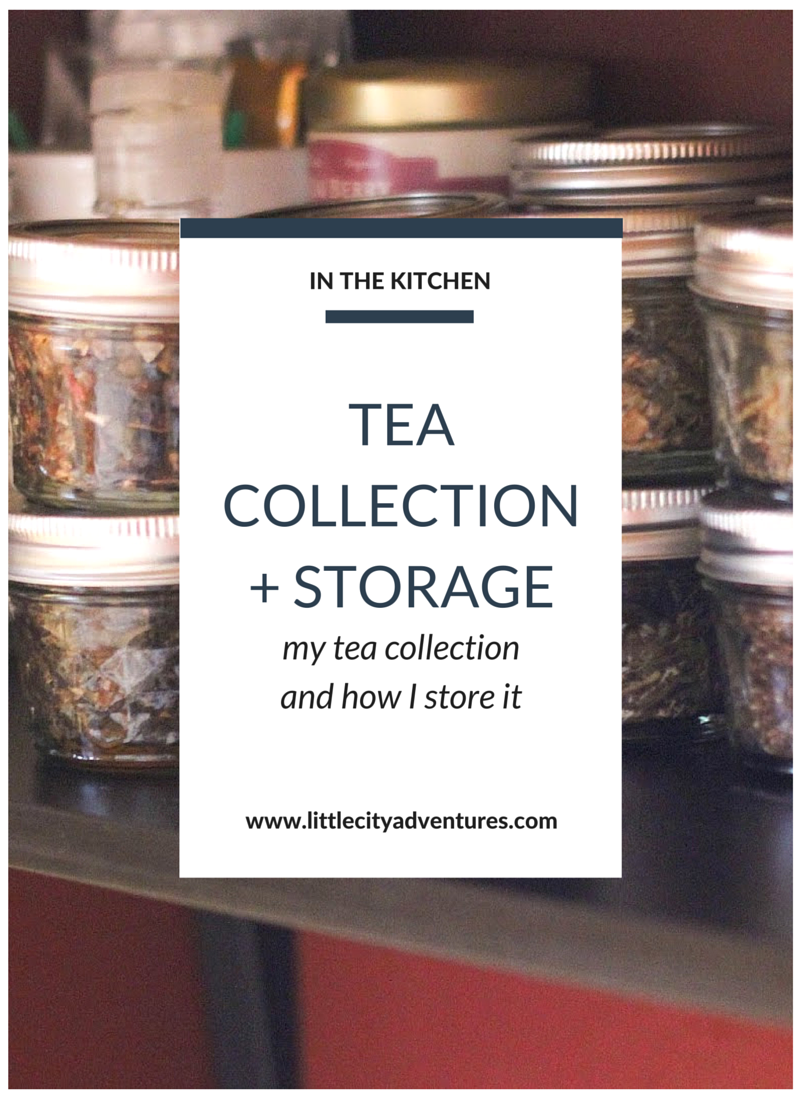 Do you have an expansive tea collection? At a loss for how to store it? Check it this post for inspiration >>>