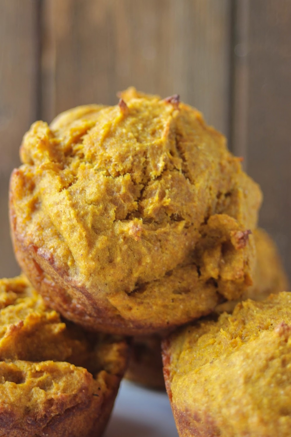 Finally! Muffins that are healthy enough to enjoy for breakfast! And as a bonus, these Pumpkin Breakfast Muffins are also dairy and refined sugar free! #littlecitykitchen http://tinyurl.com/qc87ae4