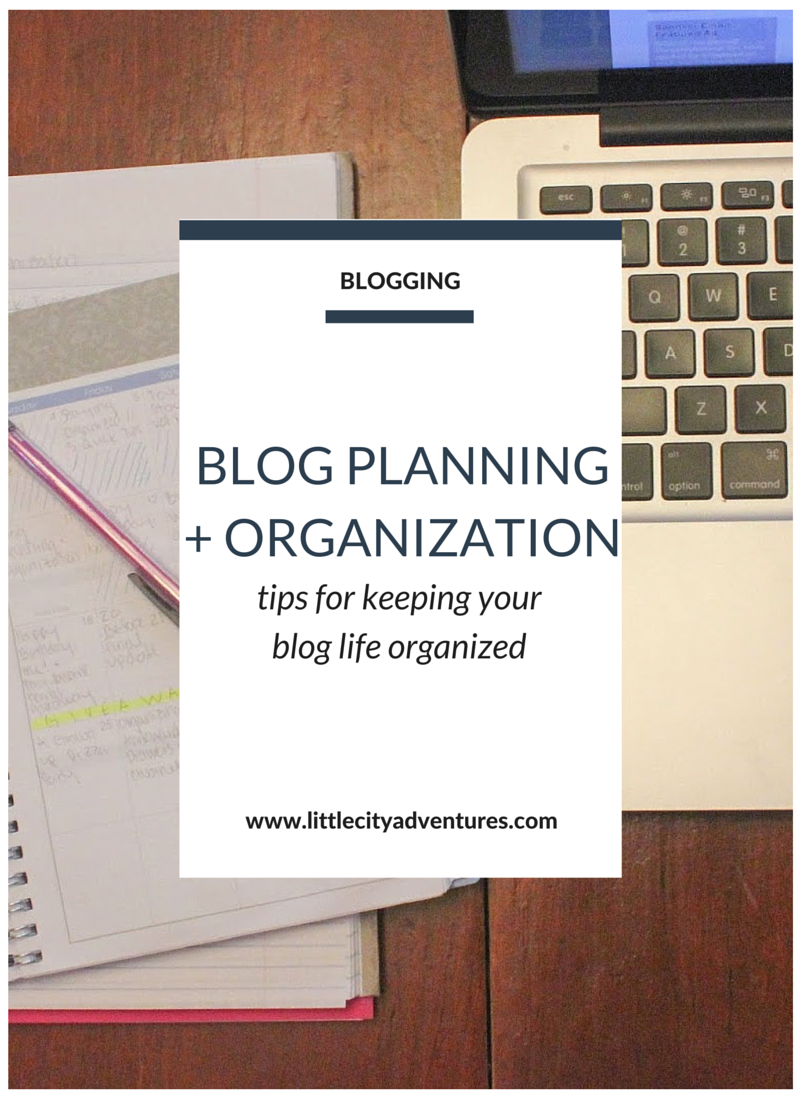These tips are helpful for basic blog planning and organization!