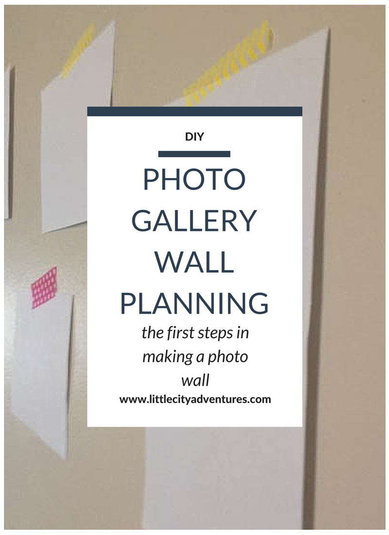 The first steps in planning the perfect photo gallery wall >>>
