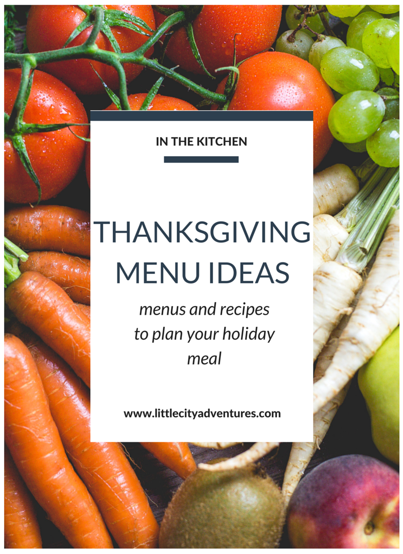 Need some Thanksgiving menu ideas? Check out this list full of menu themes and recipes to go along with >>> It's seriously helpful!