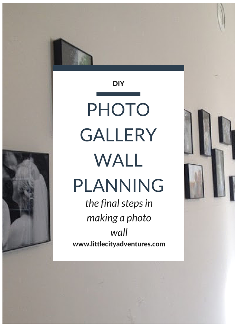 The final steps in creating the perfect photo gallery wall >>>>