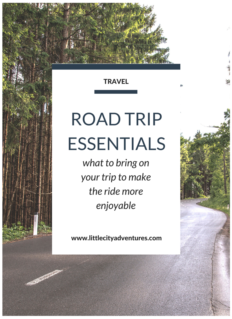 what to bring along to make that road trip ride a little more enjoyable >>