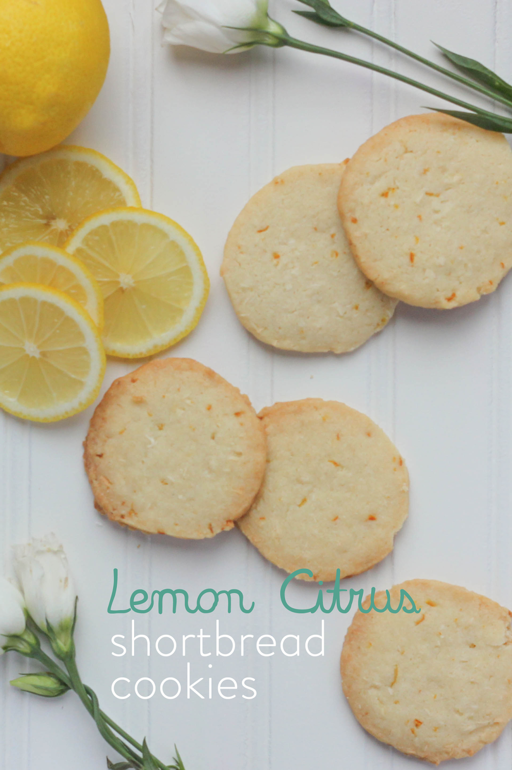 Lemon Citrus Short Bread Cookies -- from www.littlecityadventures.com -- the most unique recipe for lemon-y shortbread cookies that you'll find! They're packed with flavor and a fantastic texture #littlecitykitchen #recipe