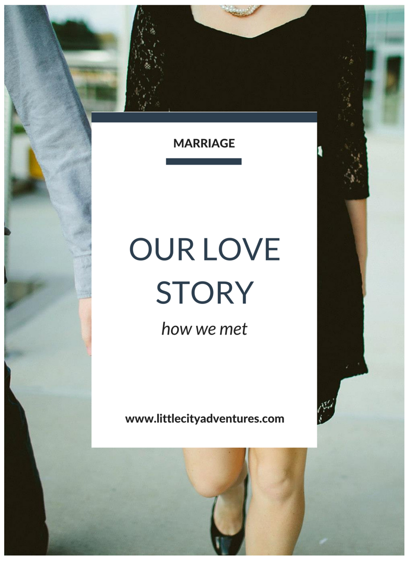 The story of two teenagers falling in love. Click through for the full story of how we met.