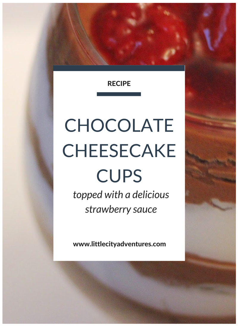 This dessert is easy to make yet deliciously decedent. Plus that strawberry sauce on top is da bomb!