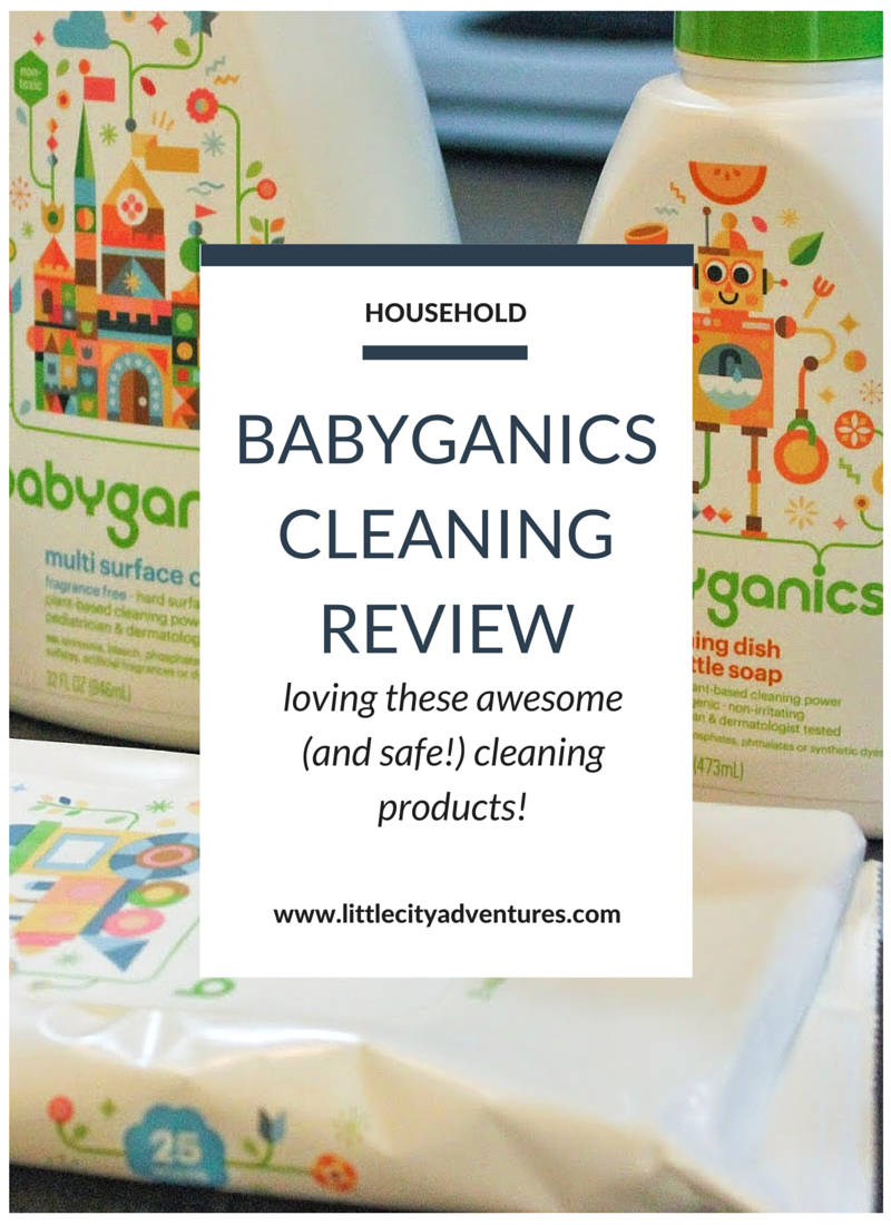 Looking for some safe cleaning products? Try out Babyganics! #sponsored