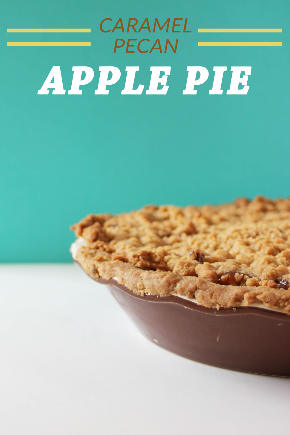 Caramel Pecan Apple Pie // This would be the perfect recipe to change up the traditional apple pie for Thanksgiving this year! http://www.littlecityadventures.com/2015/10/recipe-caramel-pecan-apple-pie.html #littlecitykitchen
