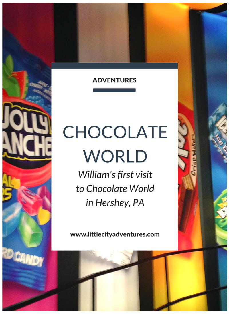 Have you ever visited Hershey's Chocolate World in Hershey, PA? The main attraction is free and teaches you all about chocolate. It's the perfect family activity. >>>>