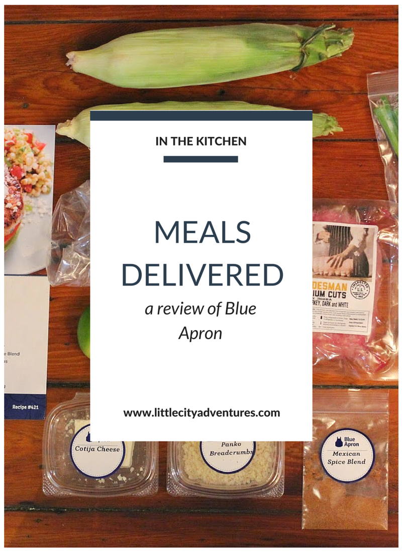 Have you wondered what this Blue Apron thing is all about? Here's a peak at our experience >>> #ad