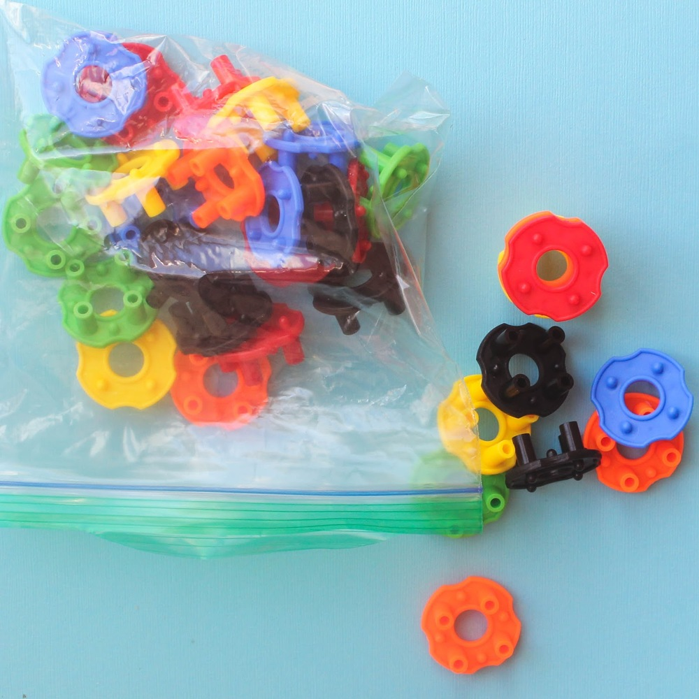 Simple stacking toys make a great busy bag activity! http://www.littlecityadventures.com/2016/04/10-simple-and-fun-toddler-busy-bags.html