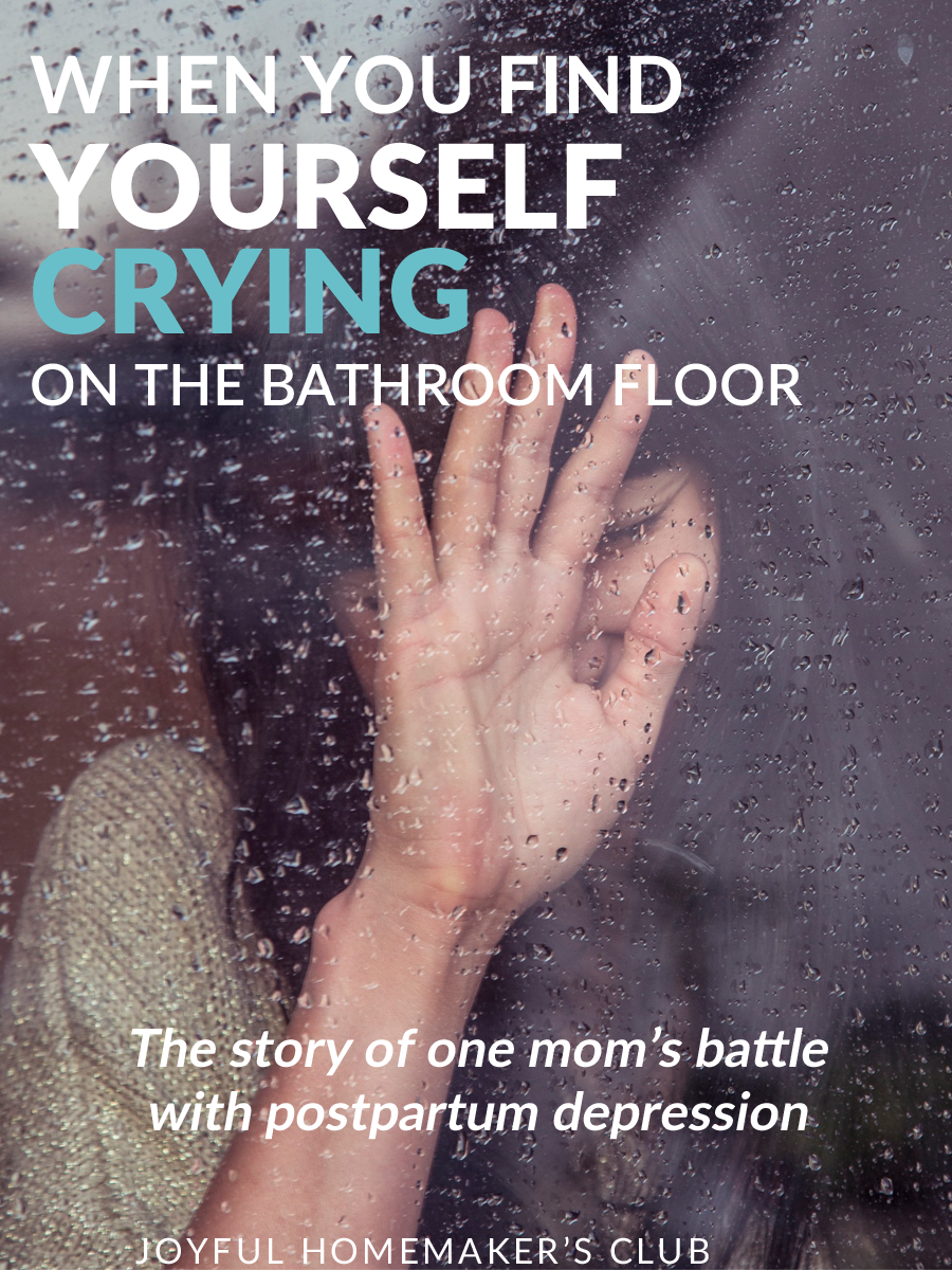 Crying on the bathroom floor - When You Find Yourself Crying On The Bathroom Floor A Guest Post