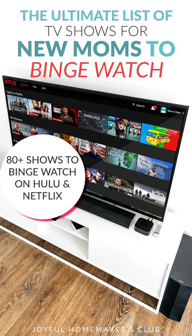 The Ultimate List Of Tv Shows For New Moms To Binge Watch The