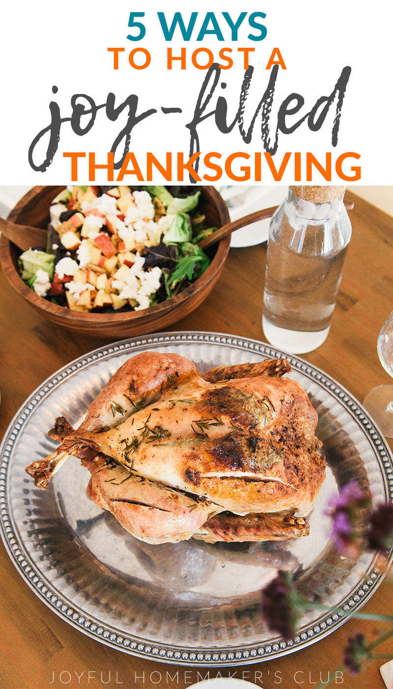 These #tips for #hosting #Thanksgiving are so helpful! It is totally possible to have a JOY-FILLED #ThanksgivingDinner if you plan, ask for help, accommodate all diets, have a clean plan, and keep it your style. #HappyThanksgiving!