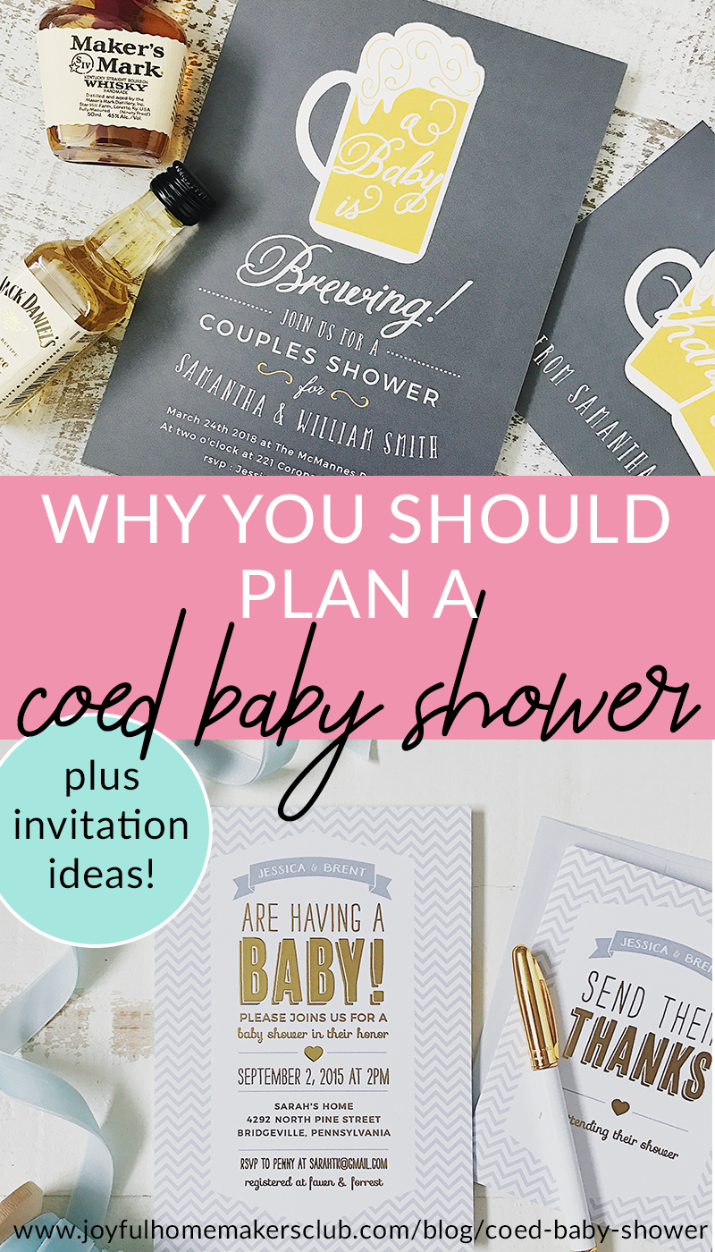 #sponsored Reasons to throw a #coed #baby #shower #party #event&nbsp