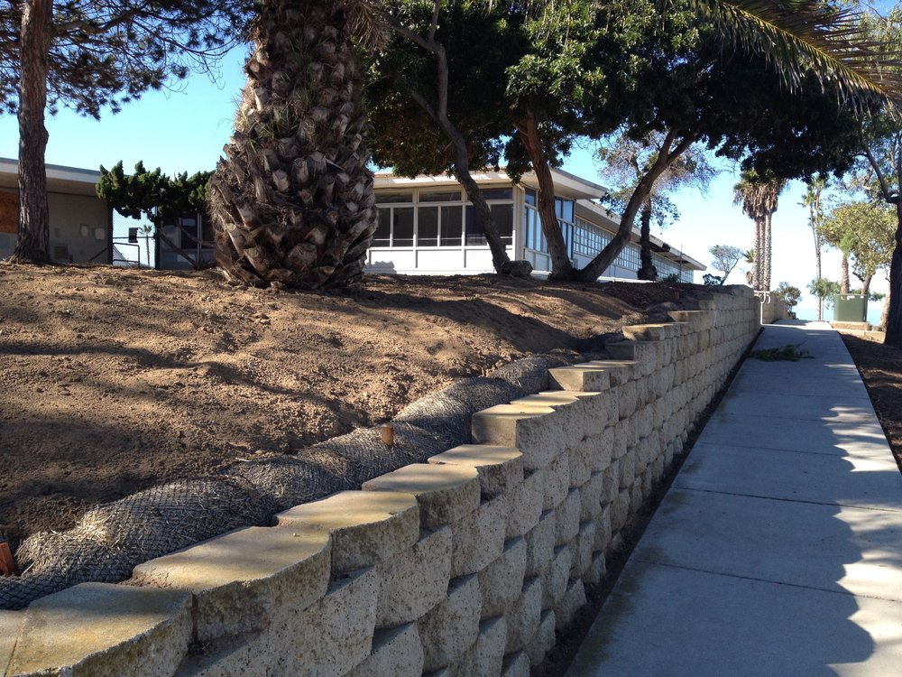 New erosion-control straw wattles installed corner of Third and E after clean-up and grading on Nov. 5, 2016.