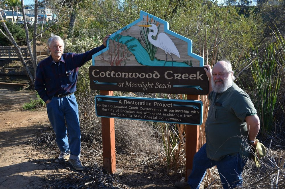 Copy of Brad Roth and Mark Wisniewski of Cottonwood Creek Conservancy