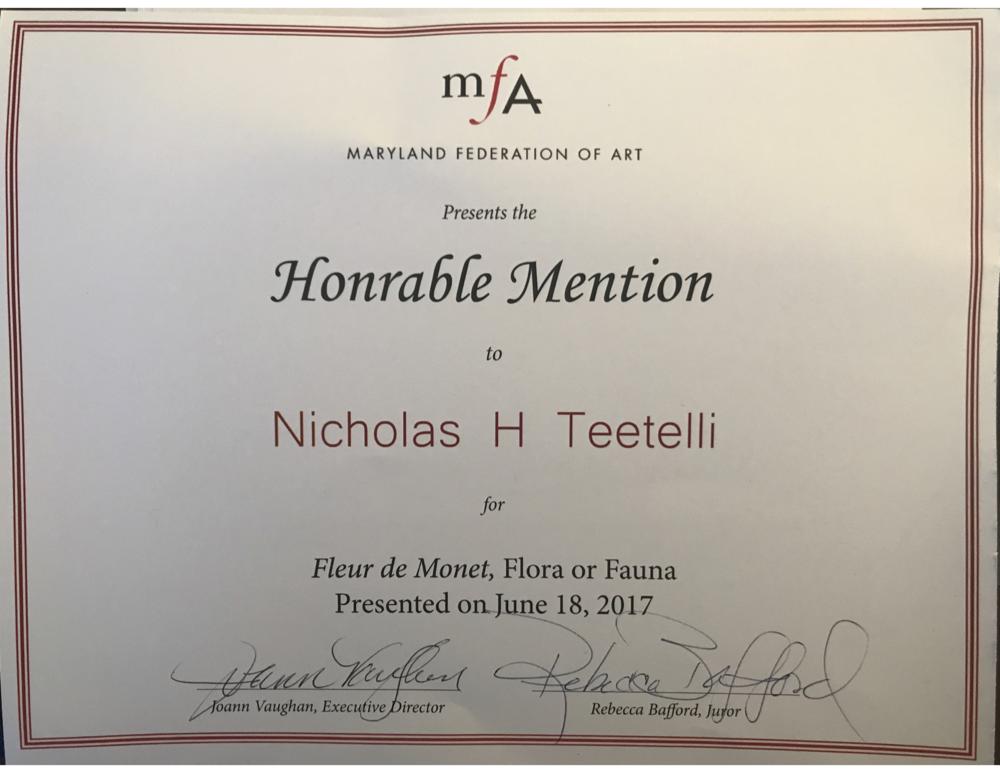2017-06 MFA - Fleur de Monet - Honorable Mention.png