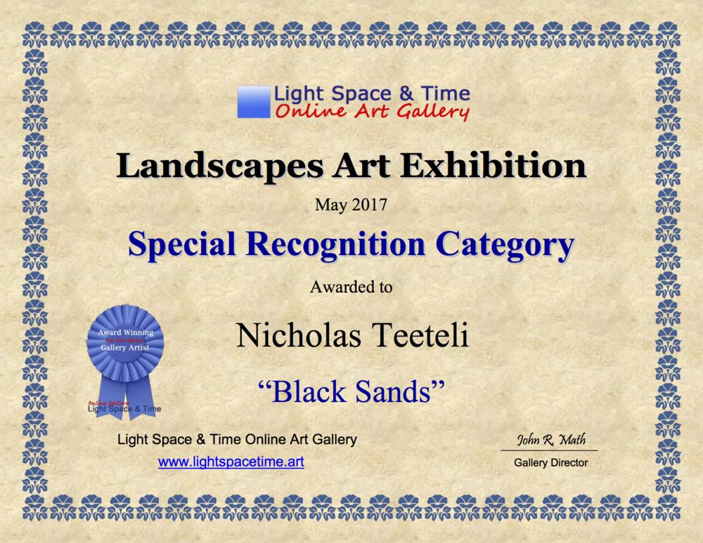 2017-05 LS&T SR - Landscapes Art Exhibition Award Black Sands .png