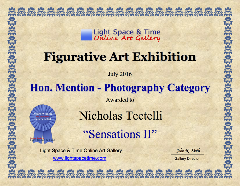 2016-07 LS&T Art Exhibition- Figurative Art - Honorable Mention - Sensations-II.png