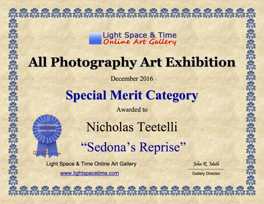 2016-12 LS&T Special Merit - Sedona's Reprise.png