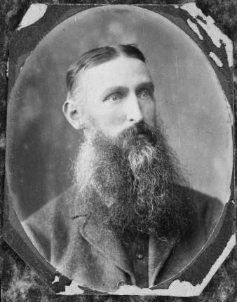 William Jukes Steward had a beard to die for.