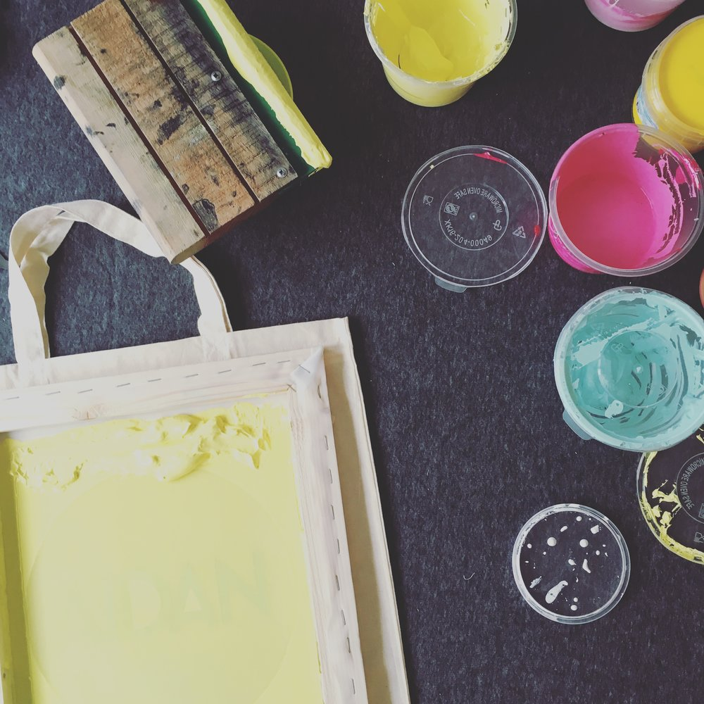 SCREEN PRINT TASTER WORKSHOP  - £45