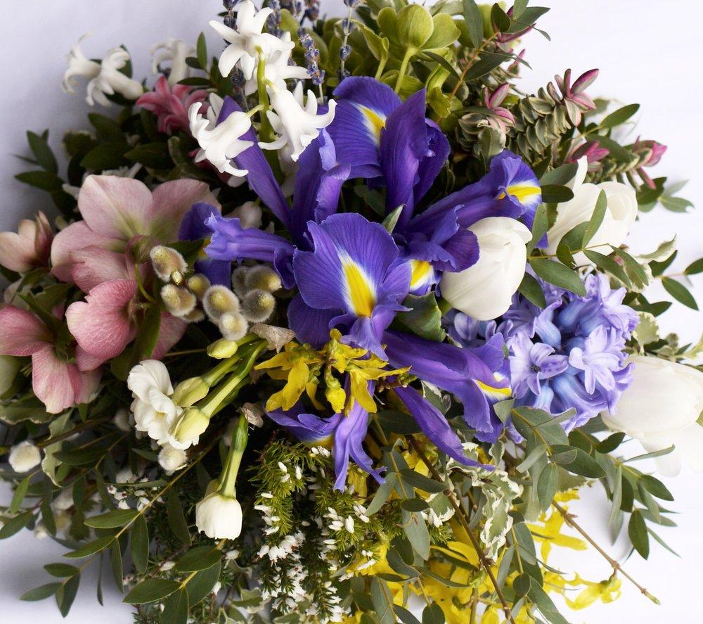 FLOWER BASKET WORKSHOP -