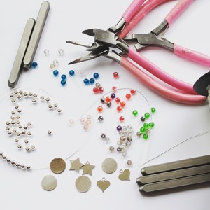 STERLING SILVER CHARM BRACELET WORKSHOP   -