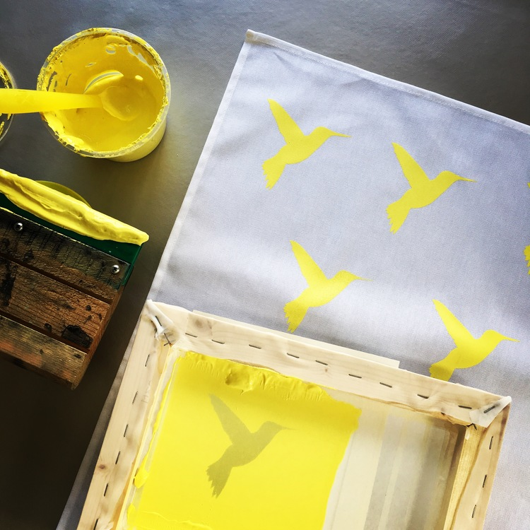 SCREEN PRINTING DAY WORKSHOP   -