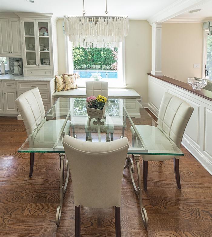 beach house, dining room, interiors