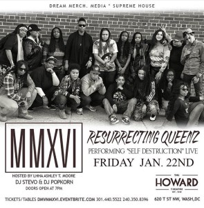 Resurrecting Queenz Howard Theatre