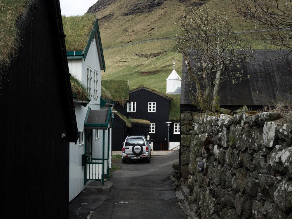 Little village on Faroe Islands   Two Drops Of Water