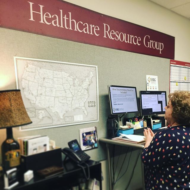 We couldn't resist grabbing a photo of Laura Legg recording her live Moon Update webinar now up at hrgpros.com! Grace period ends next week, are you ready? #WeAreHRG #hrgpros #lauralegg #HIM #MOON