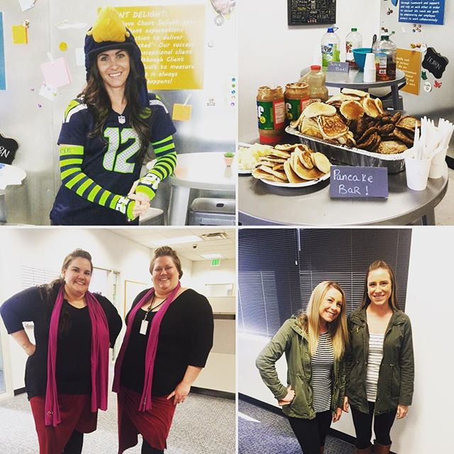 Our employee-ownership celebration week is in full swing with Monday pancake bar, Twin-Tuesday and Wednesday Team day.  It really is teamwork that makes the HRG dream work! #hrgpros #WeAreHRG #OwnIt #employeeowned