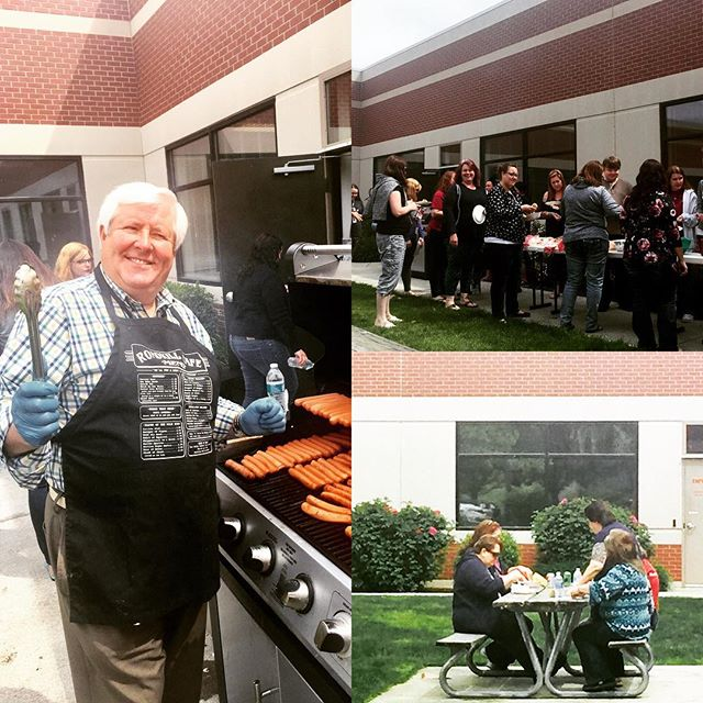 Thank you HRG CARE committee for keeping our awesome e-Owners fed via summer BBQ! #WeAreHRG #BestPlacesINW #bestplacestowork