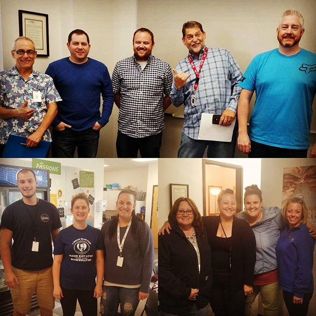 #HRGPros celebrated #HRGMensHealthMonth today! Check out some of our leadership men, gals from CBO and e-Owners from our EOSP & EBO departments rocking blue for men's health! #ShowUsYourBlue #HRGHealth