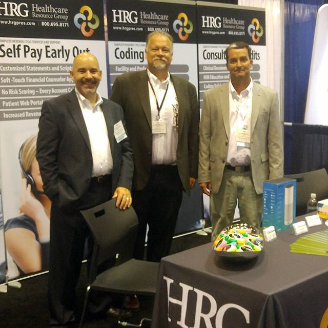 Visit #HRG at #HFMA2017ANI today at booth #1813. #revcycle solutions are being given away along with PRIZES! #conference #RCM #PFS #HIM #team