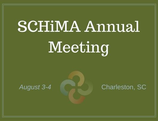 Schima Annual Meeting. August 3-4