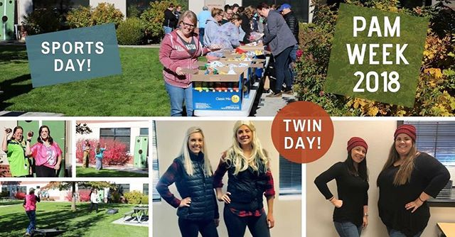 It's Patient Account Management week and #HRG is full of spirit! Celebrating our hard working e-Owners with Sports Day and Twin Day so far. Stay tuned for more photos and fun this week! #WeAreHRG #WorkHardPlayHard #BestPlacesToWork