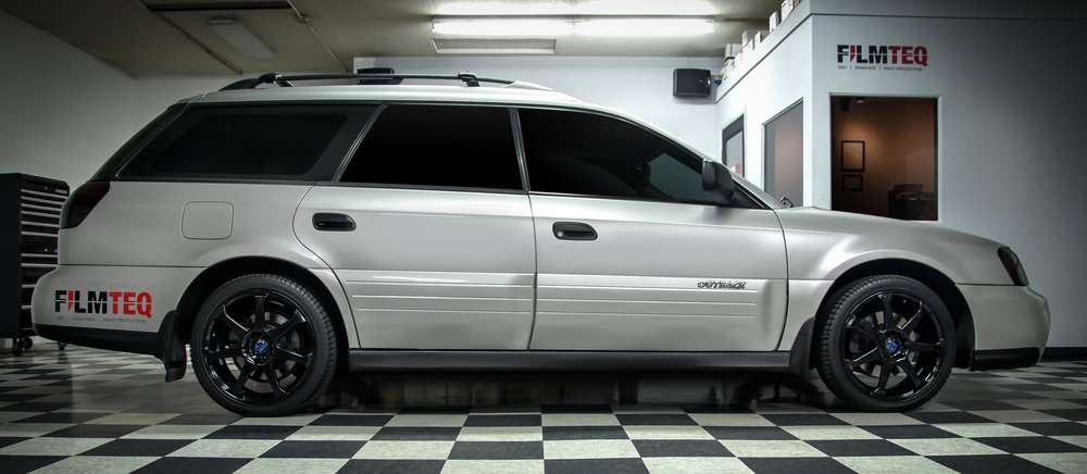 Subaru Outback Tinted Windows
