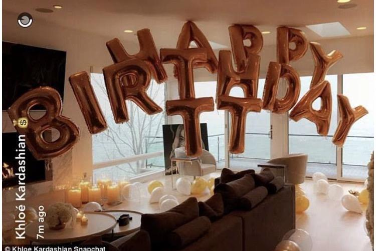 Khloe Kardashian Celebrates Birthday For Tristan Thompsonnbsp