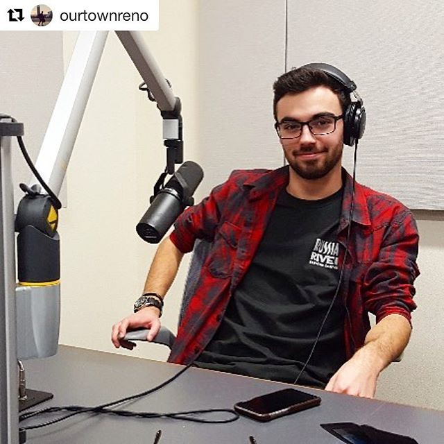 A huge thank-you to @ourtownreno for featuring our podcast in their story! 🎧 Check out our #latest episode on windsurfing by clinking the link in our bio! #Repost @ourtownreno with @repostapp ・・・ #podcastersofreno Joey Lovato fake records an episode of @nichepod for a photo op. The podcast in its second season is about hobbies, passion projects and quirky interests / careers / communities in #Reno and elsewhere. Lovato says his own niche is #podcasting. He's a determined student 👨‍🎓 podcaster from the #universitynevadareno who says he dreams of working for @gimletmedia and #thisamericanlife  #dreambig #audiodreams #studentsofreno #studentlife #podcastinglife #775 #fromthestudio #humansofreno #peopleofreno #RENOvation #international #australia  #windsurfing #windsurfinggram #podcast #niche #nichenation