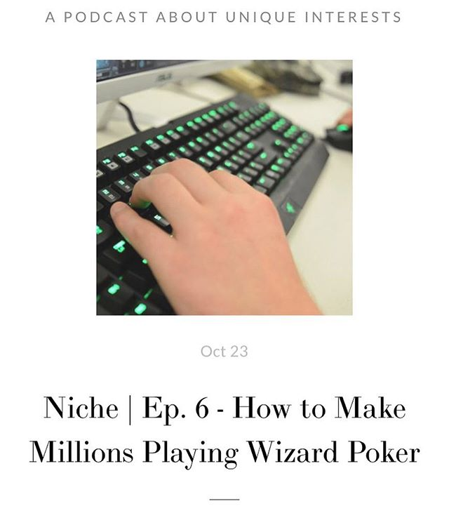We've got a new episode up! Check it out on our website or on iTunes. Just search for Nichepod! #esports #niche