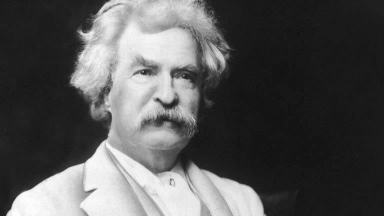 Mark Twain motivational quote