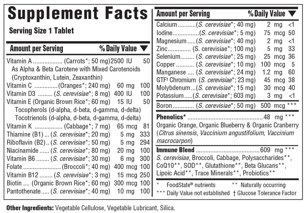 Iron Free Multiple Vitamin